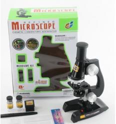 Микроскоп C 2119 акссесуары, в коробке