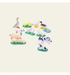 Животные NC 01-5 (1уп/12шт) домашние животные, в упаковке