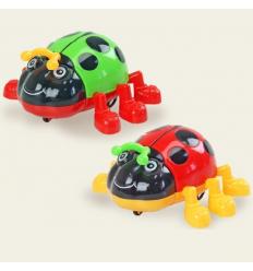Заводная игрушка 618/618A Божья коровка