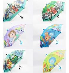 Зонт CEL-36 с рисунком, в кульке