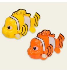 Заводная игрушка 694 (1уп/9шт) Рыбки, в дисплее