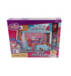 Мебель 60215 с куклой, в коробке
