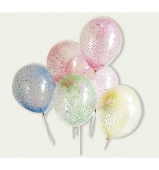 Шарики 1545-luftb прозрачный с наполнителем, в кульке
