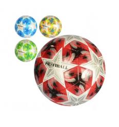 Мяч футбольный EN 3193 (30шт) размер 5, ПВХ 1,8мм, 2слоя, 32панели, 300-320г, 6видов(клубы)