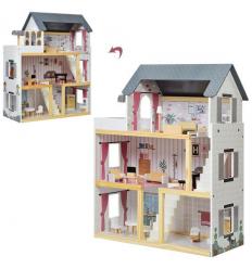 Деревянная игрушка Домик MD 2670 ш75-в116-г30см, в коробке