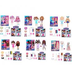 Кукла 3666-1-2-3-4-5-6 шарнирная, в коробке