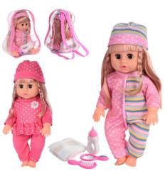 Кукла 812 K на батарейках, в рюкзаке