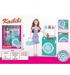 Кукла BLD 363 стиральная машина, в коробке