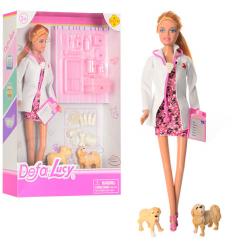 Кукла DEFA 8346 A Доктор, в коробке