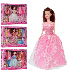 Кукла с нарядом KL 888 C платья, в коробке