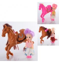Кукла 668-1 с лошадкой, в кульке