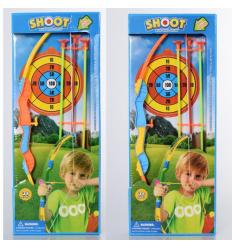 Лук 800-1 пули-присоски, в коробке