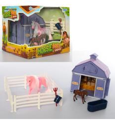 Лошадка BYL 3308-1 ферма, в коробке