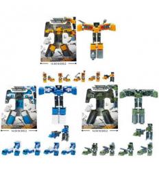 Трансформер 116-106-07-08 A 5в1, робот+машинка, в коробке