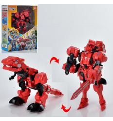 Трансформер W 6688-7 робот+динозавр, в коробке